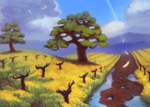 (2013) Cover illustration for Vineyard Children by Steve Shilstone