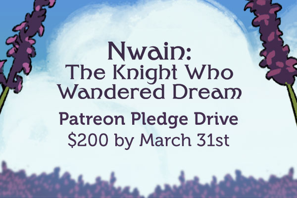 Nwain Patreon Pledge drive